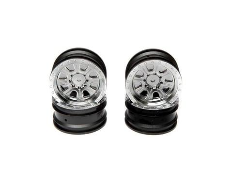 """Vaterra Ascender Front/Rear 8-Spoke 1.9"""" Satin Wheels (4) VTR43042"""