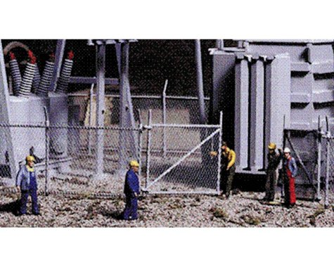 Walthers Chain link fence
