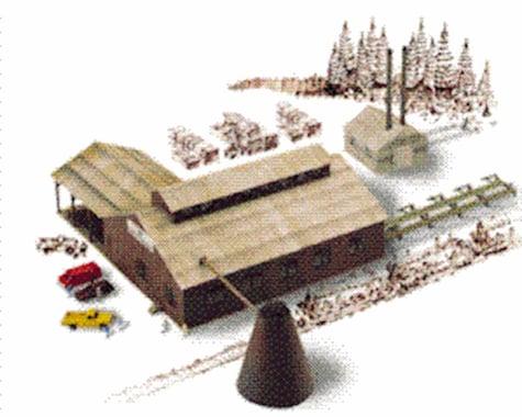 Walthers Mountain Lumber Co Sawmil