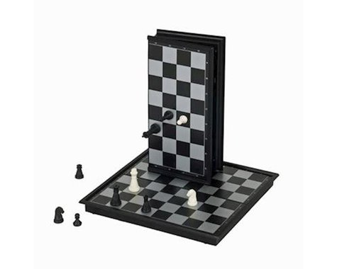Wood Expressions WE Games 10-1508 Magnetic Chess Set - Small Travel Size