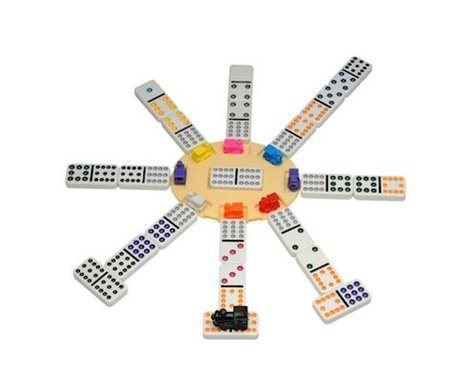 Wood Expressions  Mexican Train Dominoes