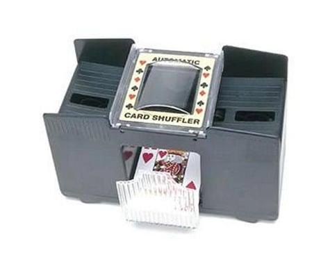 Wood Expressions 453200 Automatic Card Shuffler: 4-decks