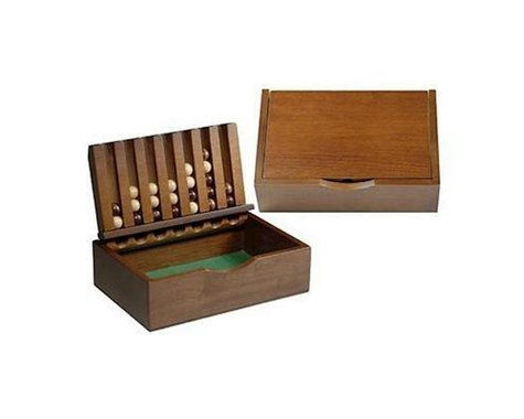 Wood Expressions 49-8208 Wood Captain's Mistress Game (4-in-a-Row) - Small