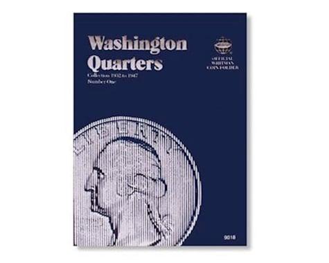 Whitman Coins 0307090183 Folder Washington #1 1932-1947
