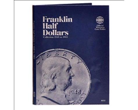 Whitman Coins Franklin Half Dollars 1948-1963 Coin Folder