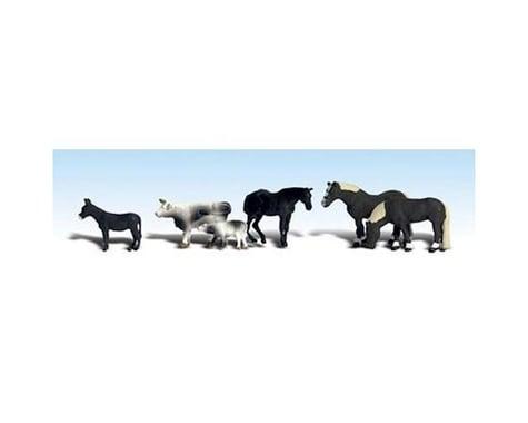 Woodland Scenics HO Farm Animals