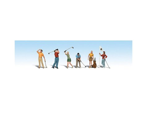 Woodland Scenics HO Golfers