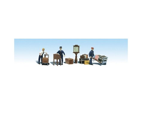 Woodland Scenics HO Depot Workers & Accessories