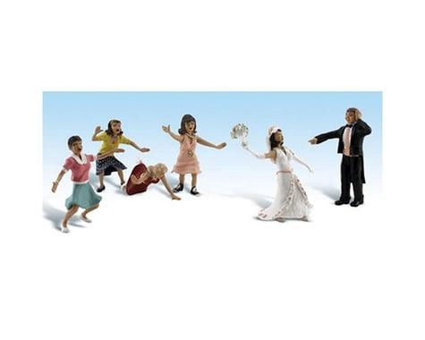 Woodland Scenics HO Wedding Bouquet Toss