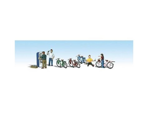 Woodland Scenics N Bicycle Buddies