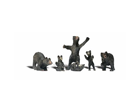 Woodland Scenics O Black Bears