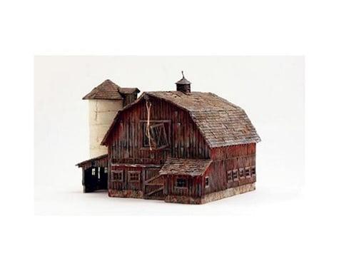Woodland Scenics Old Weathered Barn Built & Ready HO