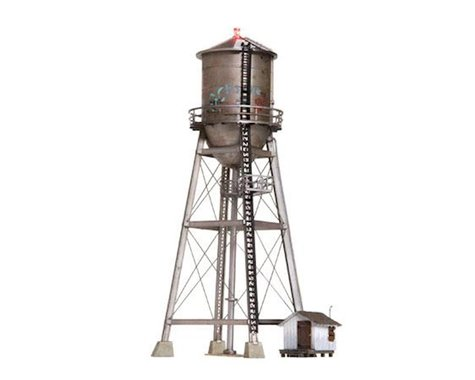 Woodland Scenics HO Scale Built-Up Rustic Water Tower