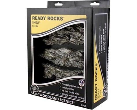 Woodland Scenics Ready Rocks, Shelf Rocks