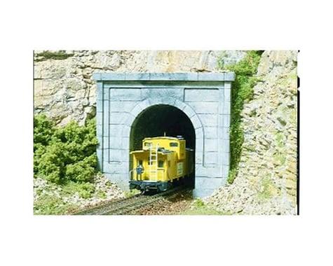 Woodland Scenics N Single Tunnel Portal, Concrete (2)