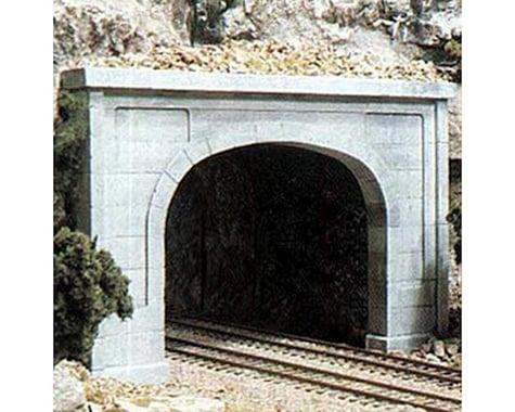 Woodland Scenics N Double Tunnel Portal, Concrete (2)