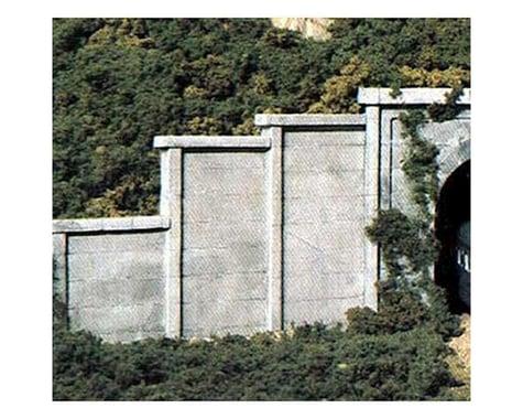Woodland Scenics N Retaining Wall, Concrete (6)