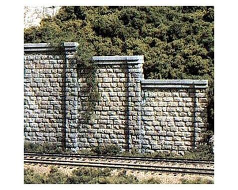 Woodland Scenics N Retaining Wall, Cut Stone (6)