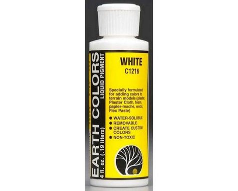 Woodland Scenics Earth Color, White/4oz