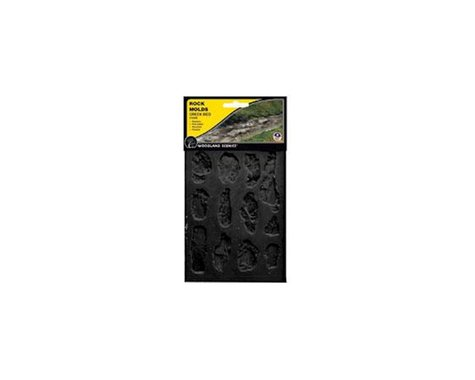 Woodland Scenics Rock Mold, Creek Bank