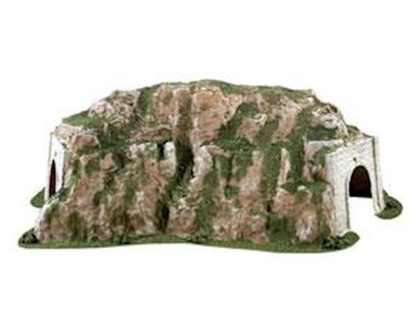 "Woodland Scenics HO Curved Tunnel, 15.5""w x 25.75""l"