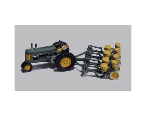 Woodland Scenics HO Seeder & Tractor, 1938-46