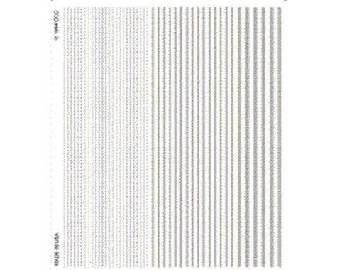 Woodland Scenics Stripes, White