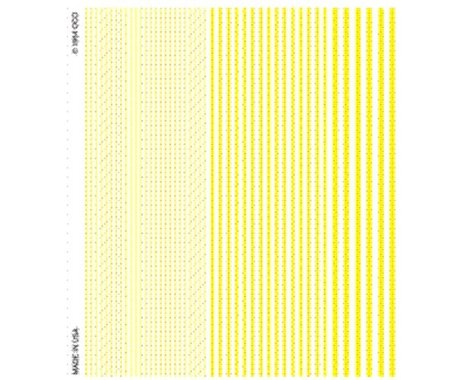 Woodland Scenics Stripes, Yellow