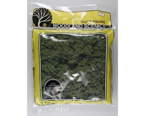 Woodland Scenics Clump-Foliage Bag, Light Green/165 cu. in.