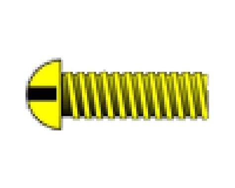 "Woodland Scenics 1-72 1/8"" Round Head Machine Screw (5)"