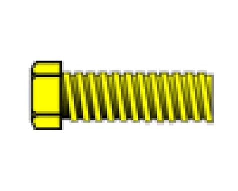 "Woodland Scenics 0-80 1/8"" Hex Head Machine Screw (5)"