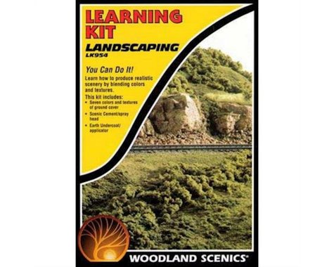 Woodland Scenics Landscaping Learning Kit
