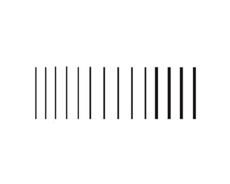 Woodland Scenics Stripes, Black