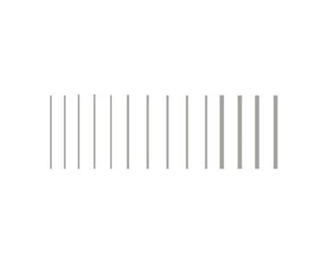 Woodland Scenics Stripes, Silver