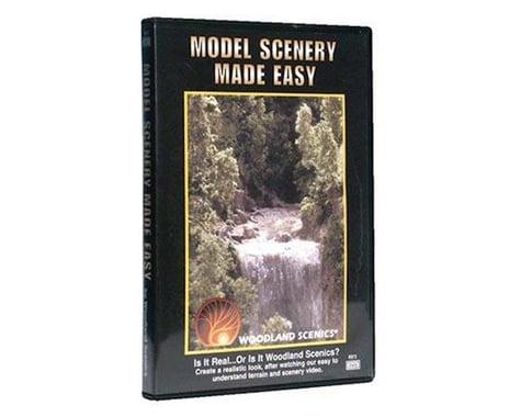 Woodland Scenics Model Scenery Made Easy - DVD