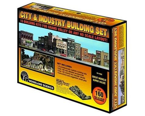 Woodland Scenics HO KIT City and Industry Building Set