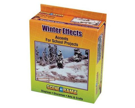 Woodland Scenics Scene-A-Rama Snow Kit