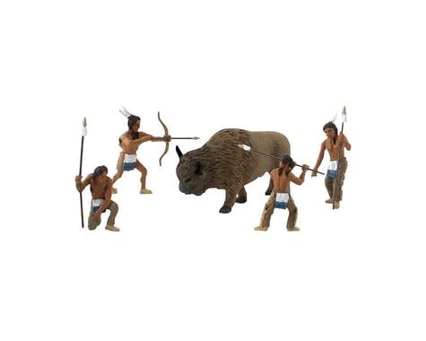 Woodland Scenics Scene-A-Rama Scene Setters Native American Hunters