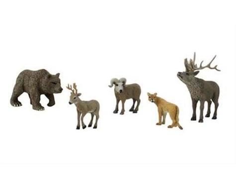 Woodland Scenics Scene-A-Rama Scene Setters North American Wildlife