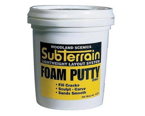 Woodland Scenics Foam Putty, Pint