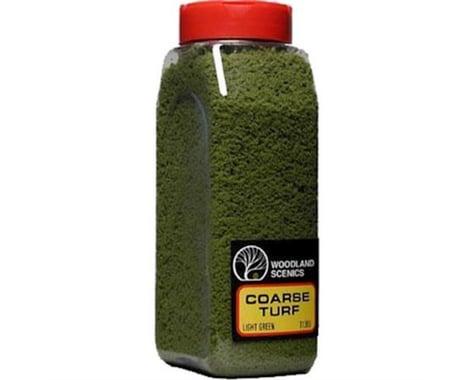 Woodland Scenics Coarse Turf Shaker, Light Green/50 cu. in.