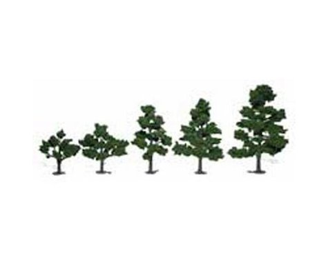 "Woodland Scenics Deciduous Tree Kit, 3""-7"" (6)"