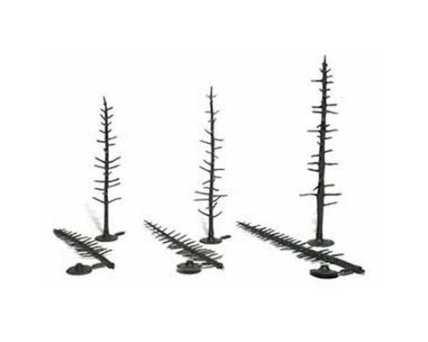 "Woodland Scenics Pine Tree Armatures, 4""-6"" (44)"