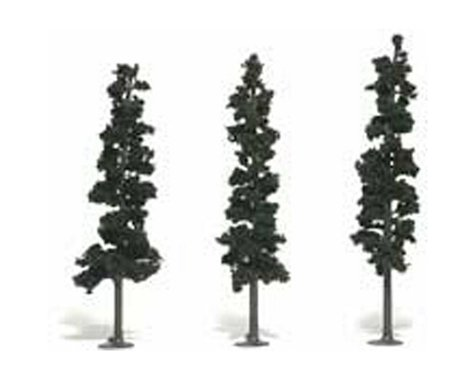 "Woodland Scenics Ready-Made Pine, 7-8"" (3)"