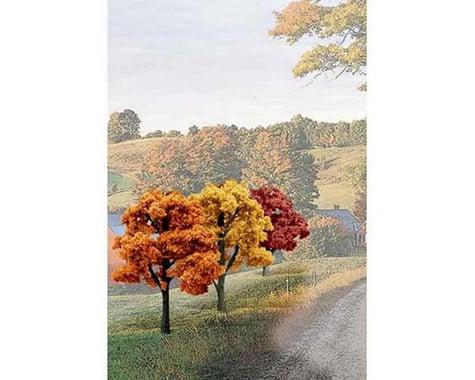 """Woodland Scenics Value Trees, Fall Mix 3-5"""" (14)"""