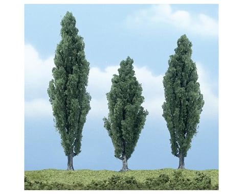 "Woodland Scenics Premium Poplar Tree, 4.75""/3.5""/4.25"" (3)"