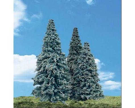 Woodland Scenics Blue Needle Trees 3.5 - 5.5  (4)