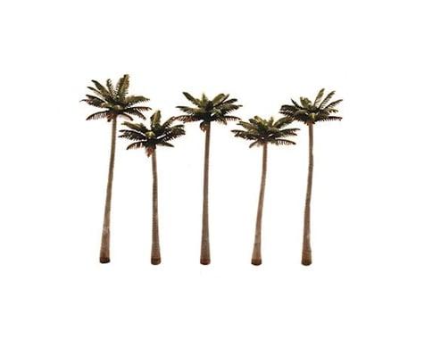 "Woodland Scenics Classics Tree, Palm 4.75-5.25""(5)"