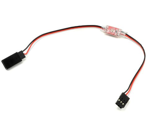 Western Robotics Tail Servo Step-Down Voltage Regulator w/LED Indicator