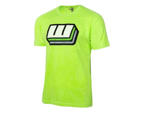 Whitz Racing Products #FlyTheW T-Shirt (Neon Green) (XL)